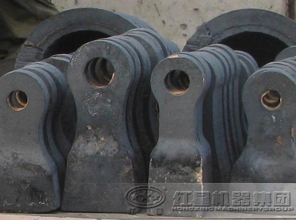 鹅卵石锤式破碎机锤头