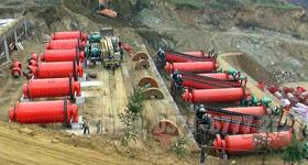 湖北黄石玄武岩选矿生产线